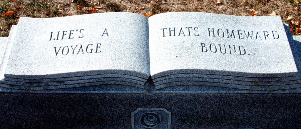 Cemetery Headstone Symbols Open Book Funeral Help Center
